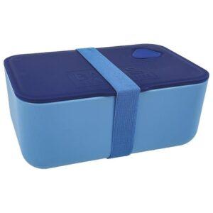 Pudełko Śniadaniowe w kolorze niebieskim