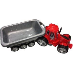 Traktor XXL z przyczepką