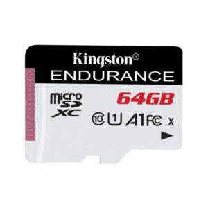 Kingston High Endurance microSDXC - Karta pamięci 64 GB A1 Class 10 UHS-I U1 95/30 MB/s
