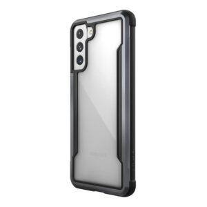 X-Doria Raptic Shield - Etui aluminiowe Samsung Galaxy S21+ (Antimicrobial protection) (Black)