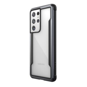 X-Doria Raptic Shield - Etui aluminiowe Samsung Galaxy S21 Ultra (Antimicrobial protection) (Black)