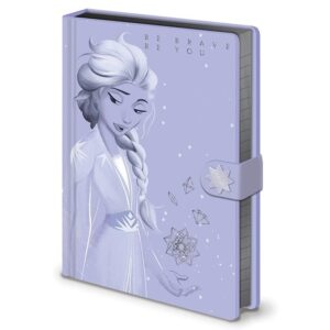 Frozen 2 - Notatnik / Notes A5 Elsa ze skóry ekologicznej