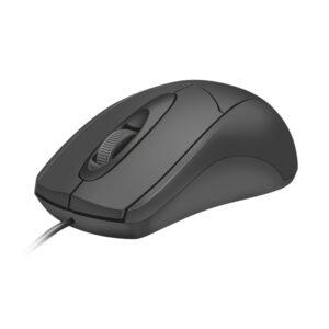 Trust Ziva - Mysz optyczna przewodowa (Czarny)