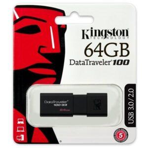 Kingston DataTravel 100 G3 - Pendrive 64GB USB 3.0