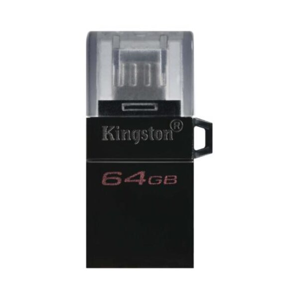 Kingston DataTraveler MicroDuo - Pendrive 64GB USB Type-A / Micro-USB