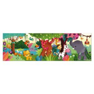 Janod - Puzzle panoramiczne Dżungla (36 el.)