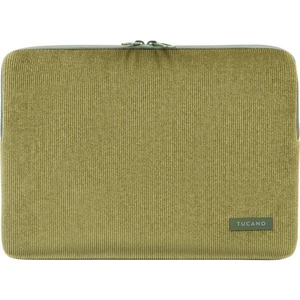"Tucano Velluto - Pokrowiec MacBook Pro 13"" (M1/2020-2016) / MacBook Air 13"" (M1/2020-2018) / Laptop 12"" (zielony)"