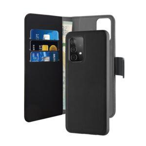 PURO Wallet Detachable - Etui 2w1 Samsung Galaxy A52 5G (czarny)