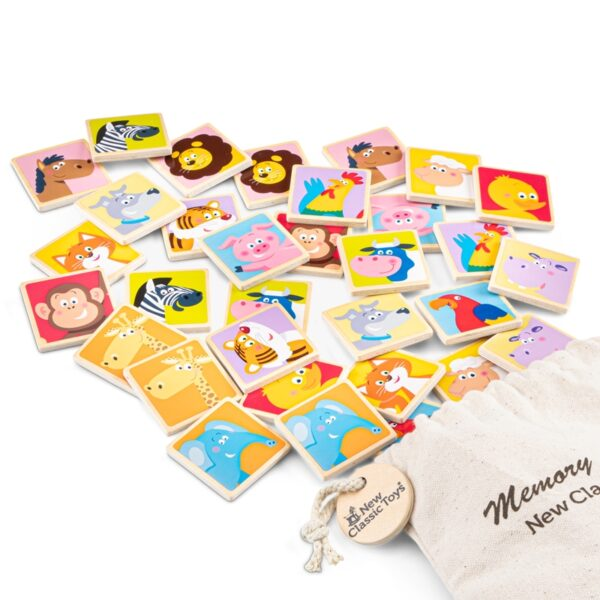 New Classic Toys - Gra pamięciowa dla dzieci