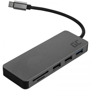 Green Cell - Stacja dokująca HUB USB-C HDMI 4K DEX SD & MicroSD card slot USB 3.0