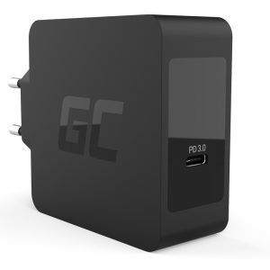 Green Cell - Ładowarka USB-C 60W PD z przewodem USB-C