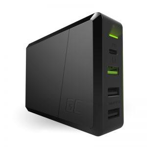 Green Cell Power Source 75W - 4-portowa ładowarka z USB-C PD