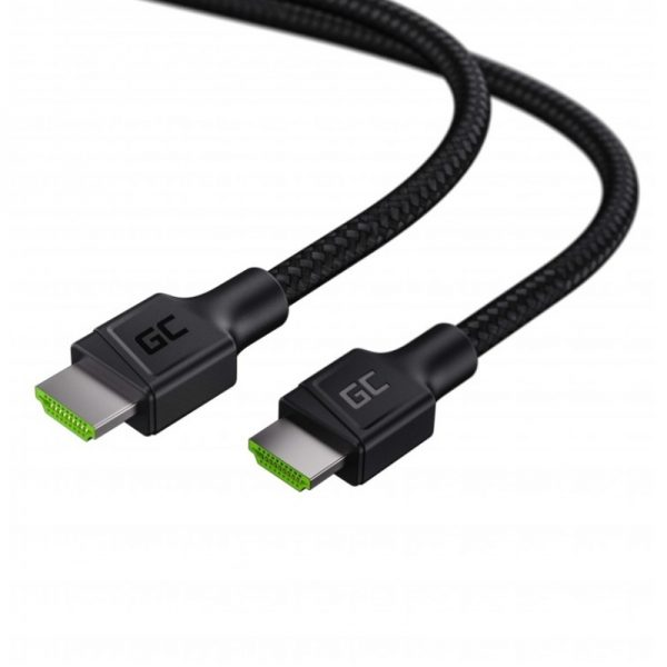 Green Cell StreamPlay - Kabel HDMI - HDMI 2.0b 1.5m z obsługą 4K 60 Hz