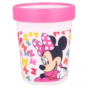 Minnie Mouse - Antypoślizgowy kubek 260 ml (różowy)