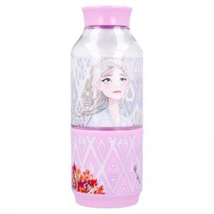 Frozen 2 - Butelka na wodę z tritanu 300 ml z pojemnikiem na przekąskę 175 ml