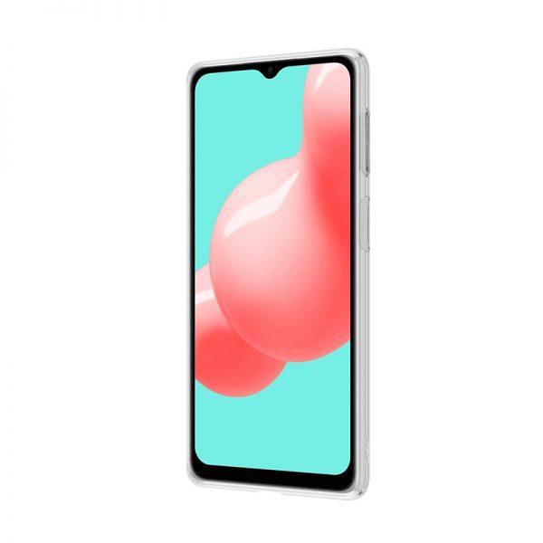 Crong Crystal Slim Cover - Etui Samsung Galaxy A32 5G (przezroczysty)