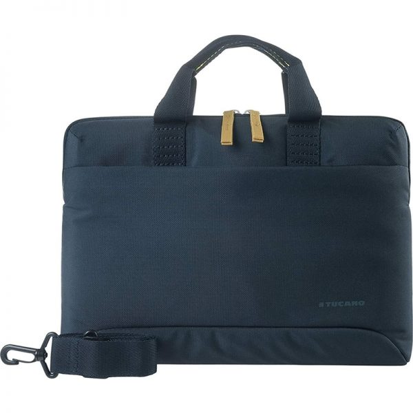 "Tucano Smilza Super Slim Bag - Torba MacBook Pro 16"" / Notebook 15.6"" (granatowy)"