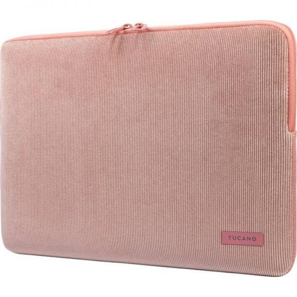 """Tucano Velluto - Pokrowiec MacBook Pro 16"""" / Laptop 15.6"""" (różowy)"""