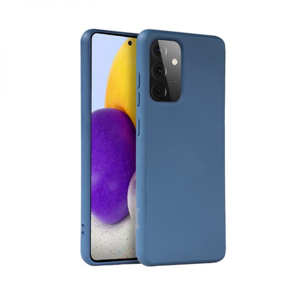 Crong Color Cover - Etui Samsung Galaxy A72 (niebieski)