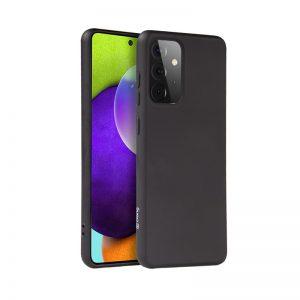 Crong Color Cover - Etui Samsung Galaxy A52 (czarny)