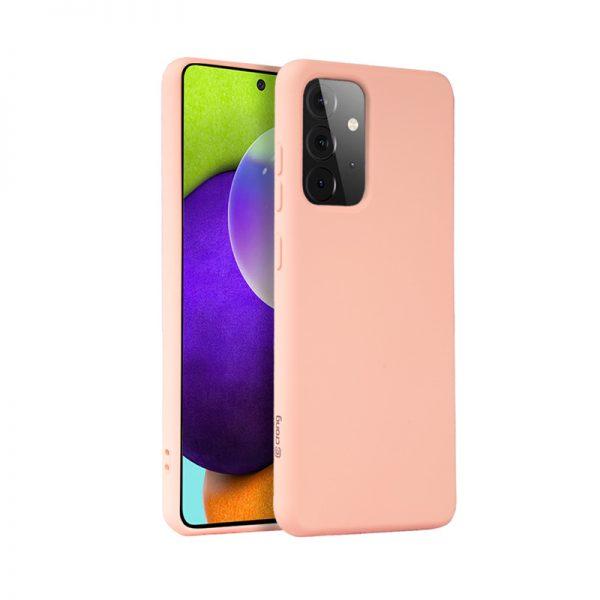 Crong Color Cover - Etui Samsung Galaxy A52 (różowy)