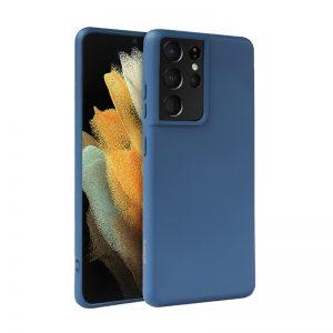 Crong Color Cover - Etui Samsung Galaxy S21 Ultra (niebieski)