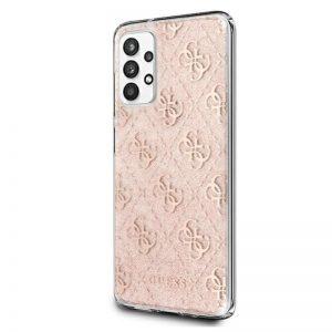 Guess 4G Glitter - Etui Samsung Galaxy A32 5G (Pink)