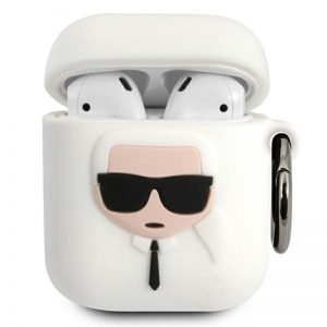 Karl Lagerfeld - Etui Apple Airpods (white)