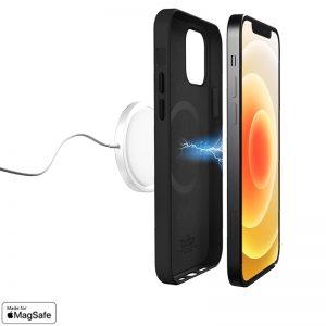 PURO SKYMAG - Etui iPhone 12 / iPhone 12 Pro Made for Magsafe (czarny)