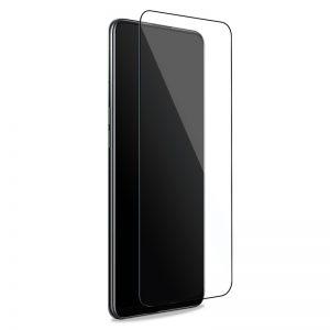PURO Frame Tempered Glass - Szkło ochronne hartowane na ekran Oppo A54 5G / A74 5G (czarna ramka)