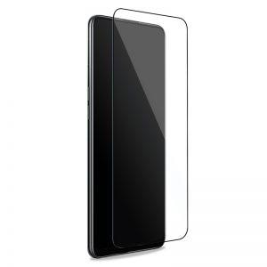PURO Frame Tempered Glass - Szkło ochronne hartowane na ekran Oppo A94 5G (czarna ramka)