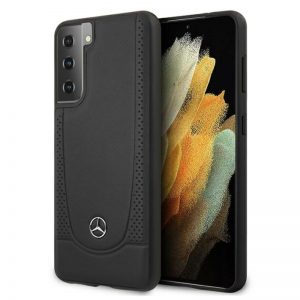 Mercedes Leather Urban Line - Etui Samsung Galaxy S21 (black)