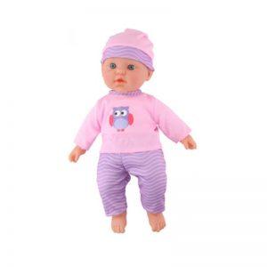Eddy toys - Lalka bobas 41cm (Różowo-fioletowa)