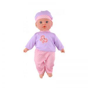 Eddy toys - Lalka bobas 41cm (Fioletowo-różowa)
