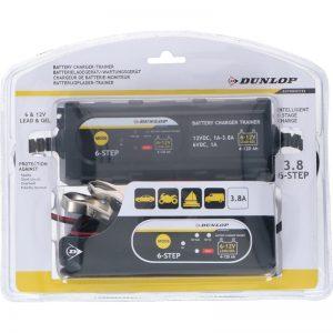 Dunlop - Inteligentny prostownik / ładowarka 3.8A 6-12 V