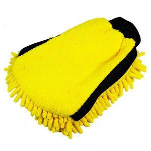 Dunlop - Rękawica do mycia auta 2w1 mikrofibra i frędzle