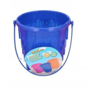 Eddy toys - Wiaderko do piasku Zamek 15cm (Niebieski)