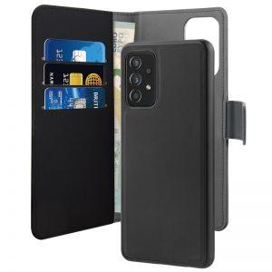 PURO Wallet Detachable - Etui 2w1 Samsung Galaxy A72 5G / A72 4G (czarny)