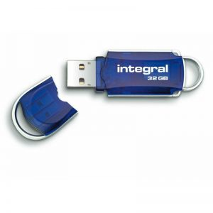 Integral Courier - Pendrive 32GB Hi-Speed USB 2.0
