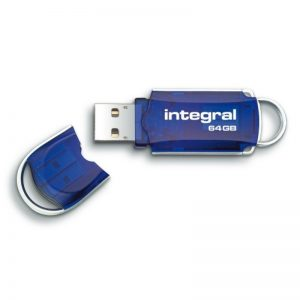 Integral Courier - Pendrive 64GB Hi-Speed USB 2.0