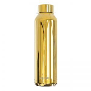 Quokka Solid - Butelka termiczna ze stali nierdzewnej 630 ml (Sleek Gold)