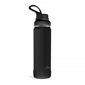 PURO Outdoor - Butelka termiczna ze stali nierdzewnej 750 ml (Black)
