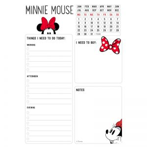 Minnie Mouse - Planner dzienny 54 strony A5