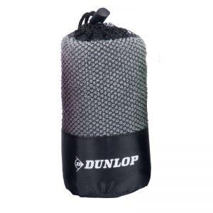 Dunlop - Ręcznik sportowy z mikrofibry (Szary)