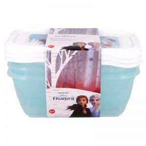 Frozen - Zestaw pojemników na żywność 540ml (3szt.)